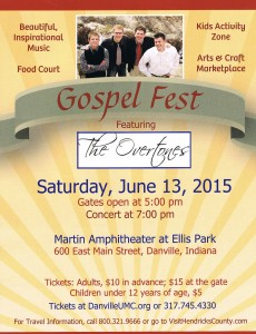 Gospel Fest with the Overtones